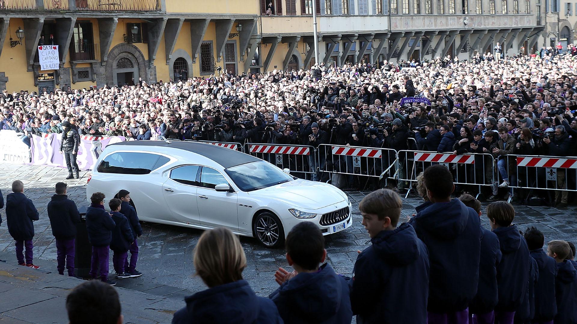 Davide Astori funeral