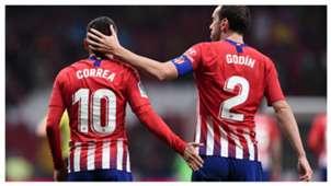 Correa Godin Atletico Madrid Valencia LaLiga