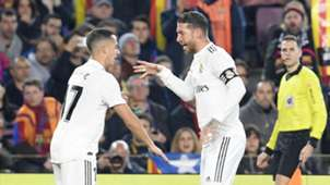 Lucas Vazquez Sergio Ramos Real Madrid