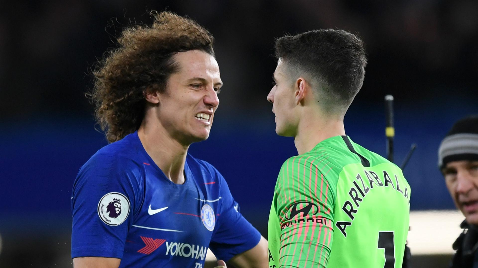 David Luiz Kepa Chelsea 2018-19