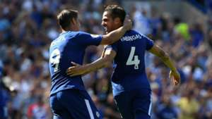 Alvaro Morata Cesc Fabregas Chelsea