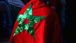 Marokko Fan Flagge WM