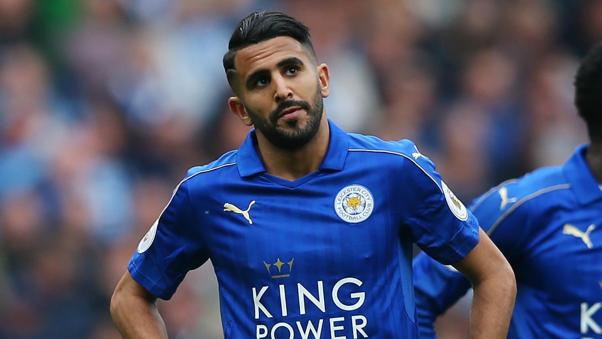 Leicester City, l'annuncio di Mahrez: