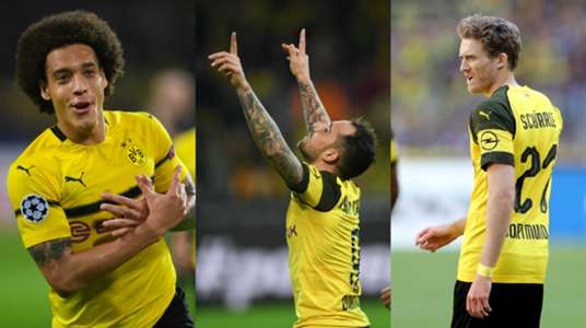 Collage Witsel Alcacer Schürrle