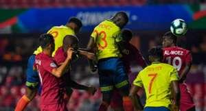 Davinson Sánchez Colombia - Qatar Copa América 2019