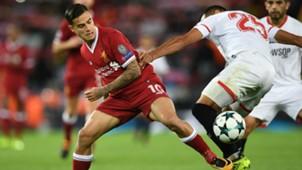 Philippe Coutinho Liverpool Sevilla Champions League