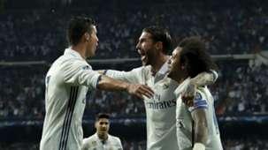Cristiano Ronaldo Sergio Ramos Marcelo Real Madrid