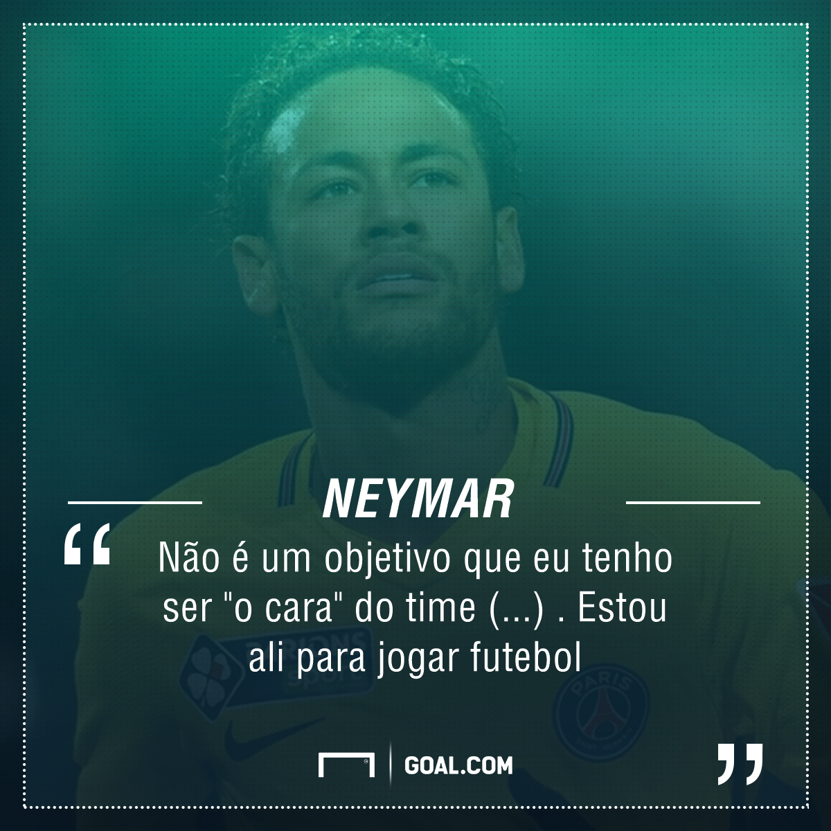 """Neymar Garante: Não Quer Ser """"o Cara"""" Do PSG E Comenta"""