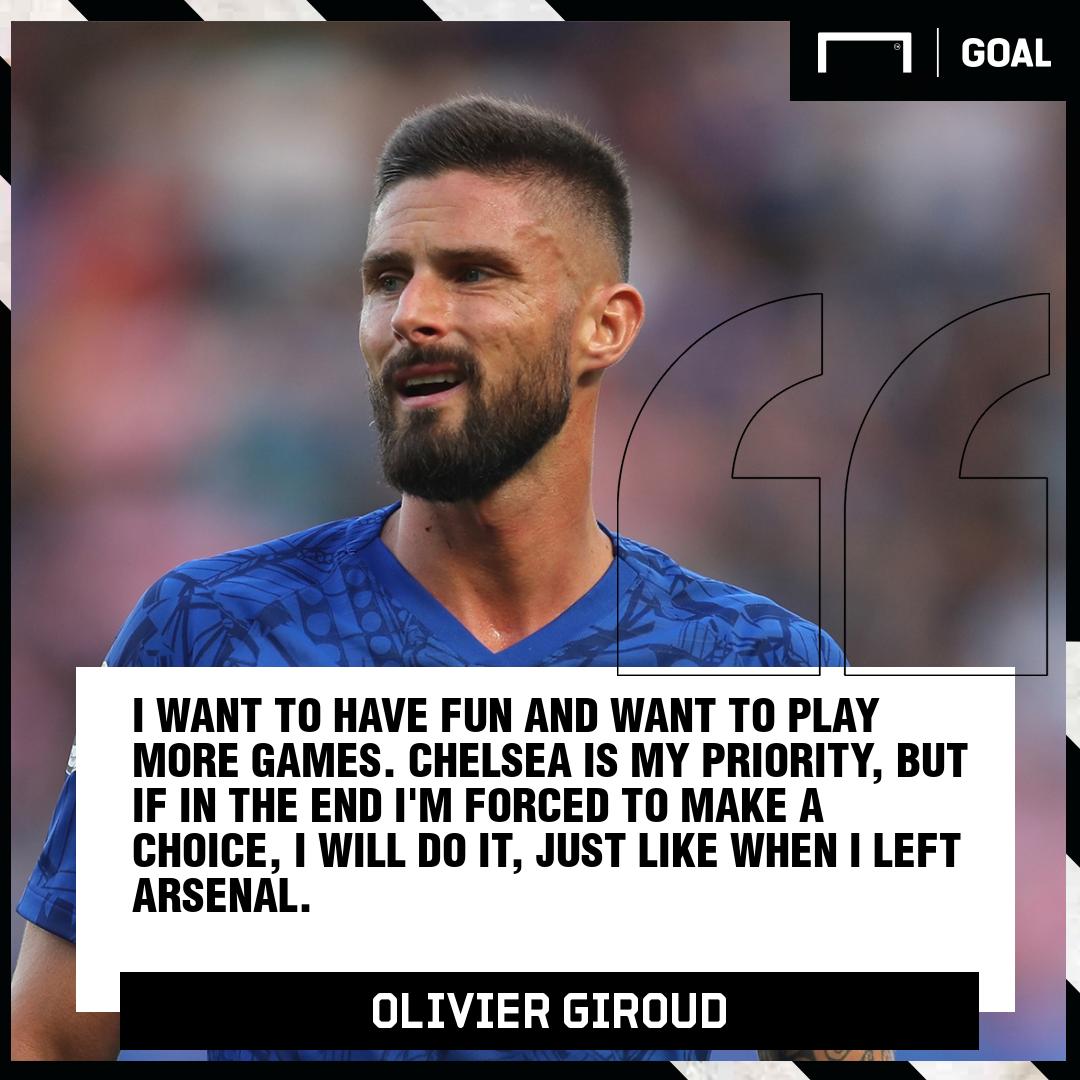 Olivier Giroud Chelsea Quote