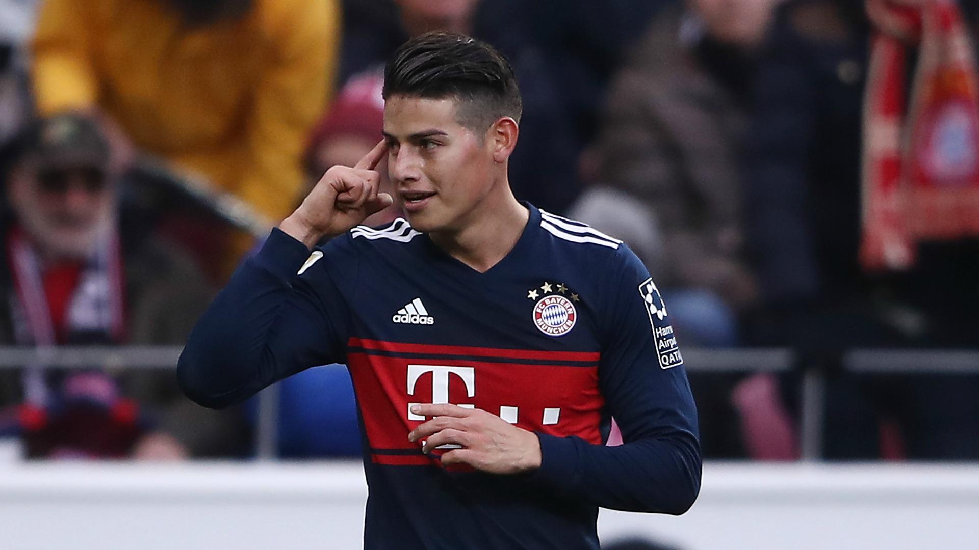 Spieler des Tages: James (Bayern München)