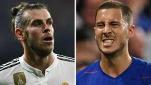 Gareth Bale Eden Hazard GFX