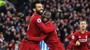 Mohamed Salah Naby Keita Liverpool