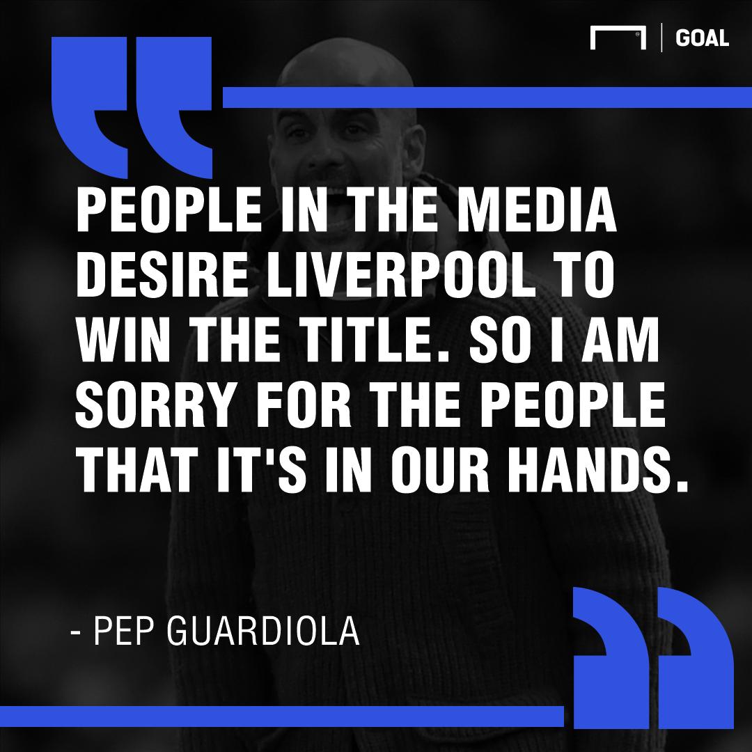 Pep quote media