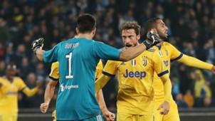Gigi Buffon Claudio Marchisio Napoli Juventus