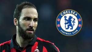 Gonzalo Higuain Milan Chelsea 2018