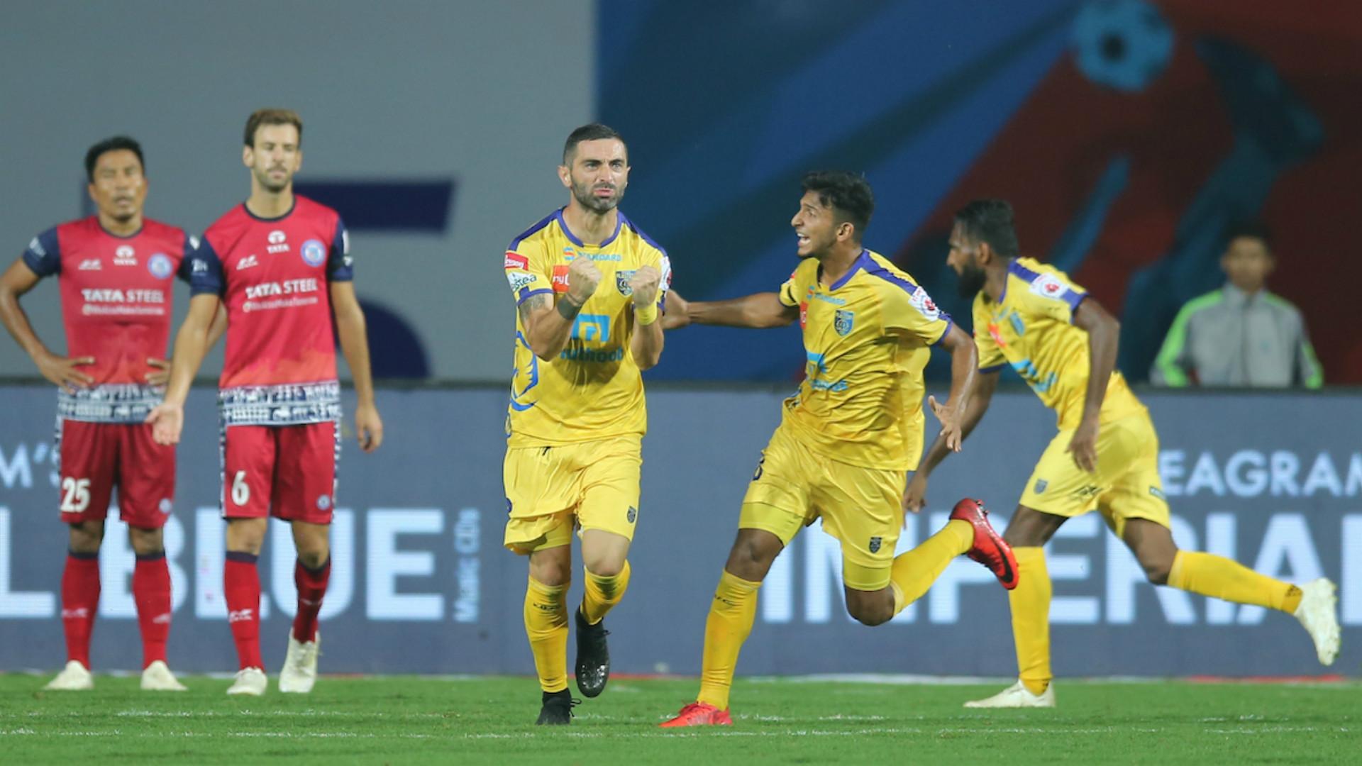 Jamshedpur vs Kerala Blasters ISL 2018-19