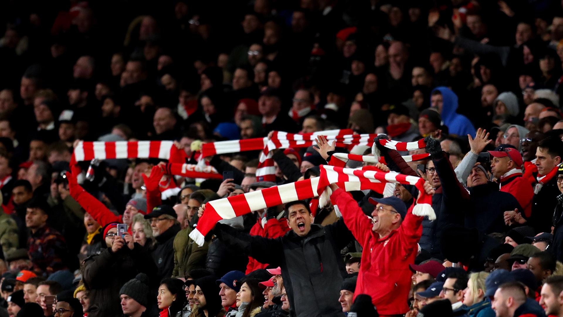 Arsenal fans/ Emirates