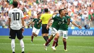 Hirving Lozano Mesut Özil Ozil Deutschland Mexiko World Cup Weltmeisterschaft 17062018