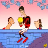CARTOON Kaka retirement