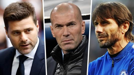 Pochettino Zidane Conte