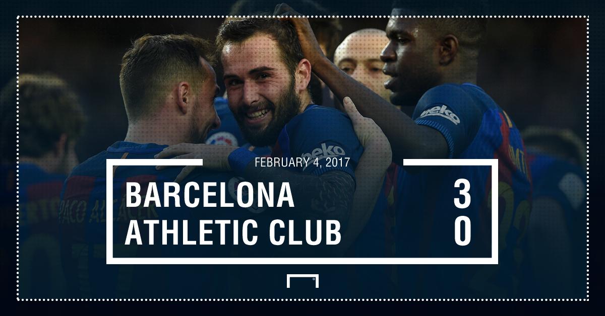 Barcelona Athletic result