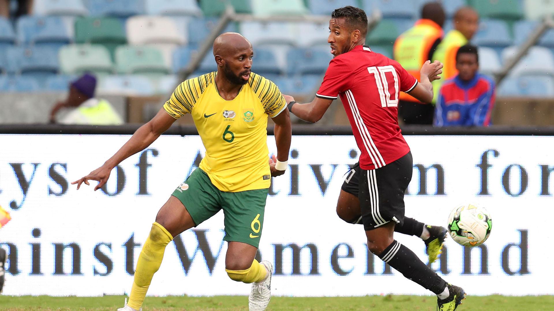 Ramahlwe Mphahlele Bafana Bafana v Libya, September 2018