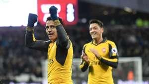 Alexis Sanchez Mesut Ozil Arsenal