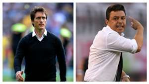 Guillermo Barros Schelotto Marcelo Gallardo