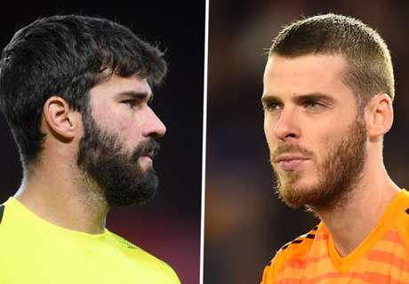 How Alisson usurped De Gea as PL's top goalkeeper