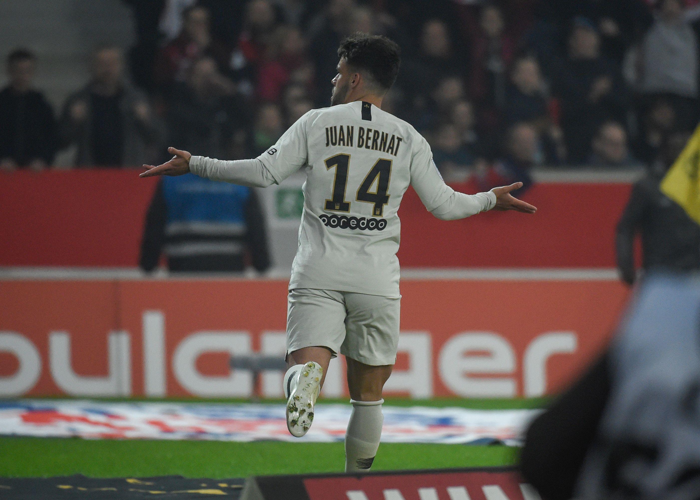 Lille PSG Juan Bernat