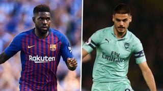 Samuel Umtiti, Barcelona, Konstantinos Mavropanos, Arsenal