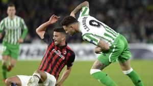 Mateo Musacchio Toni Sanabria Betis Milan Europa League