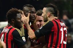rami et balotelli à l'AC Milan