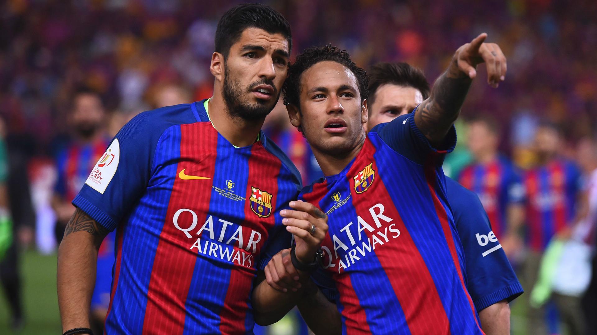 Neymar veut jouer avec Luis Suarez à Paris