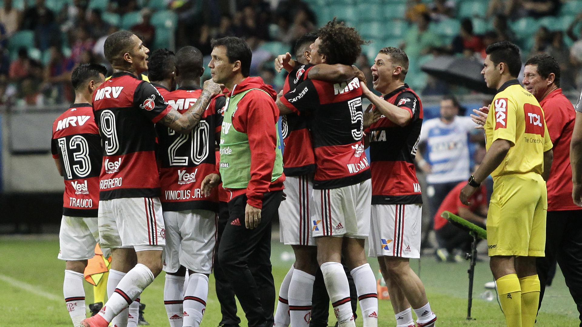 Ze Ricardo Bahia Flamengo Brasileirao Serie A 25062017
