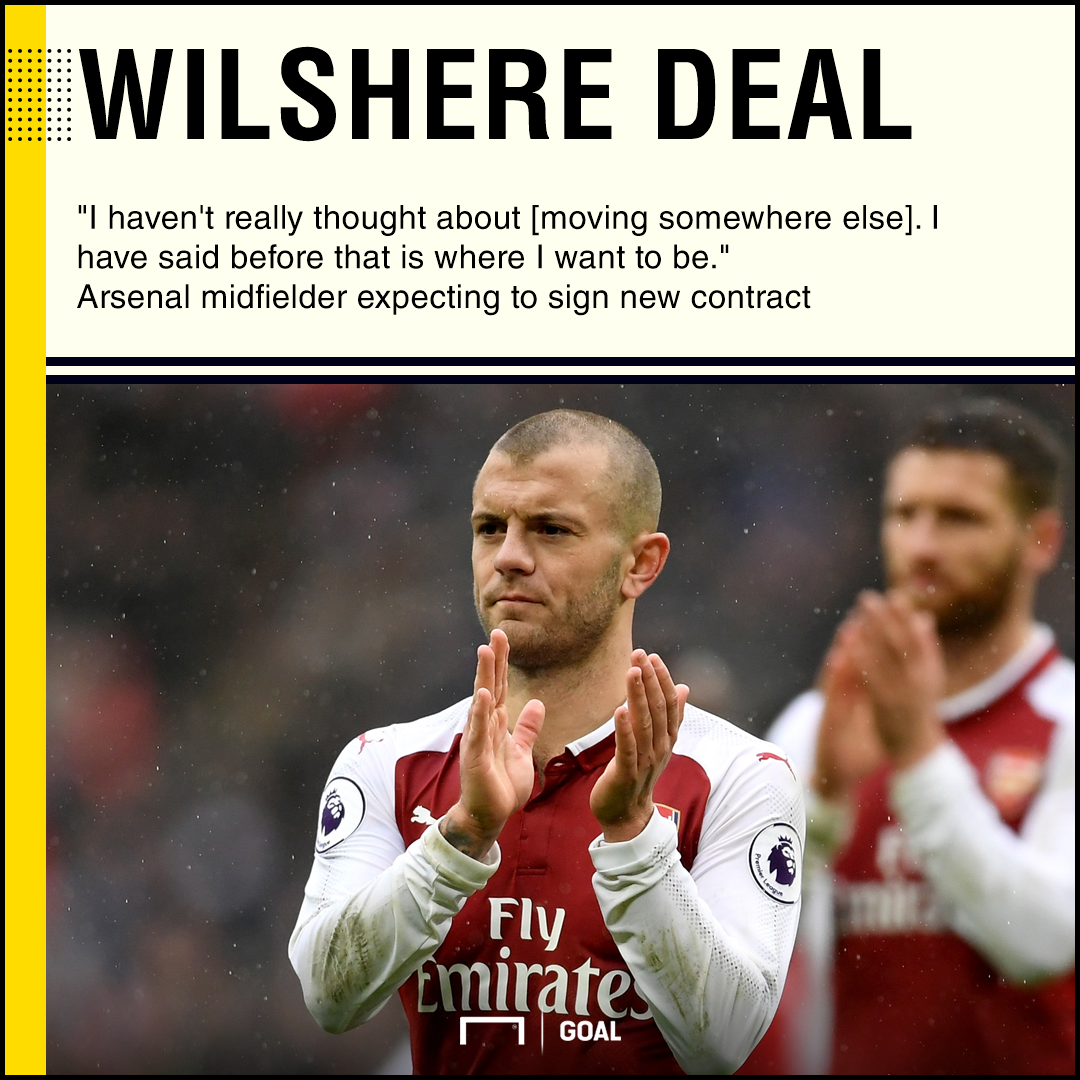 Jack Wilshere expecting new Arsenal contract