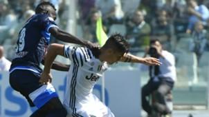 Coulibaly Dybala Pescara Juventus Serie A