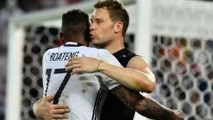 Manuel Neuer Jerome Boateng 02072016