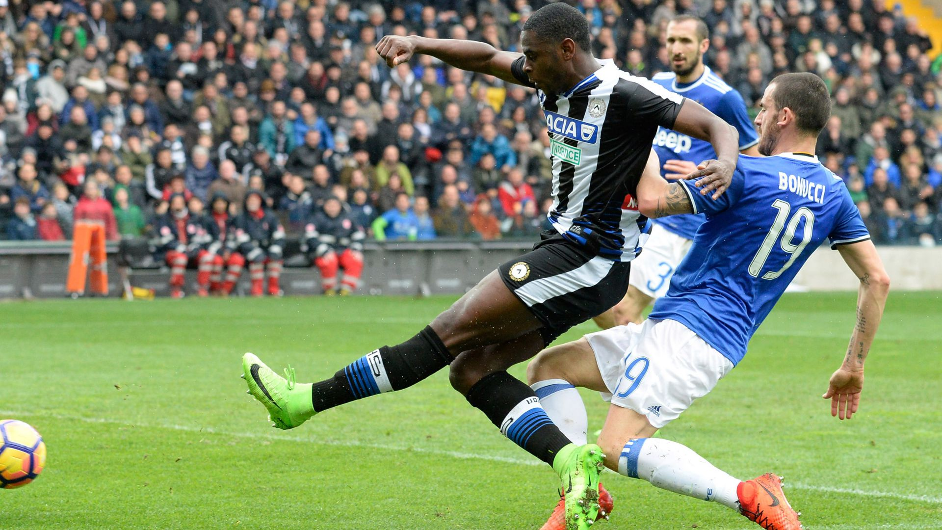 Duvan Zapata Udinese Juventus Serie A