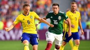 Hector Herrera Ludwig Augustinsson Sweden Mexico World Cup 2018