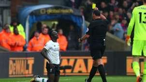 Sadio Mane booking dive Liverpool Crystal Palace