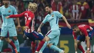 Antoine Griezmann Lionel Messi Atletico Madrid Barcelona