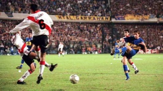 Palermo Boca River Copa Libertadores 2000
