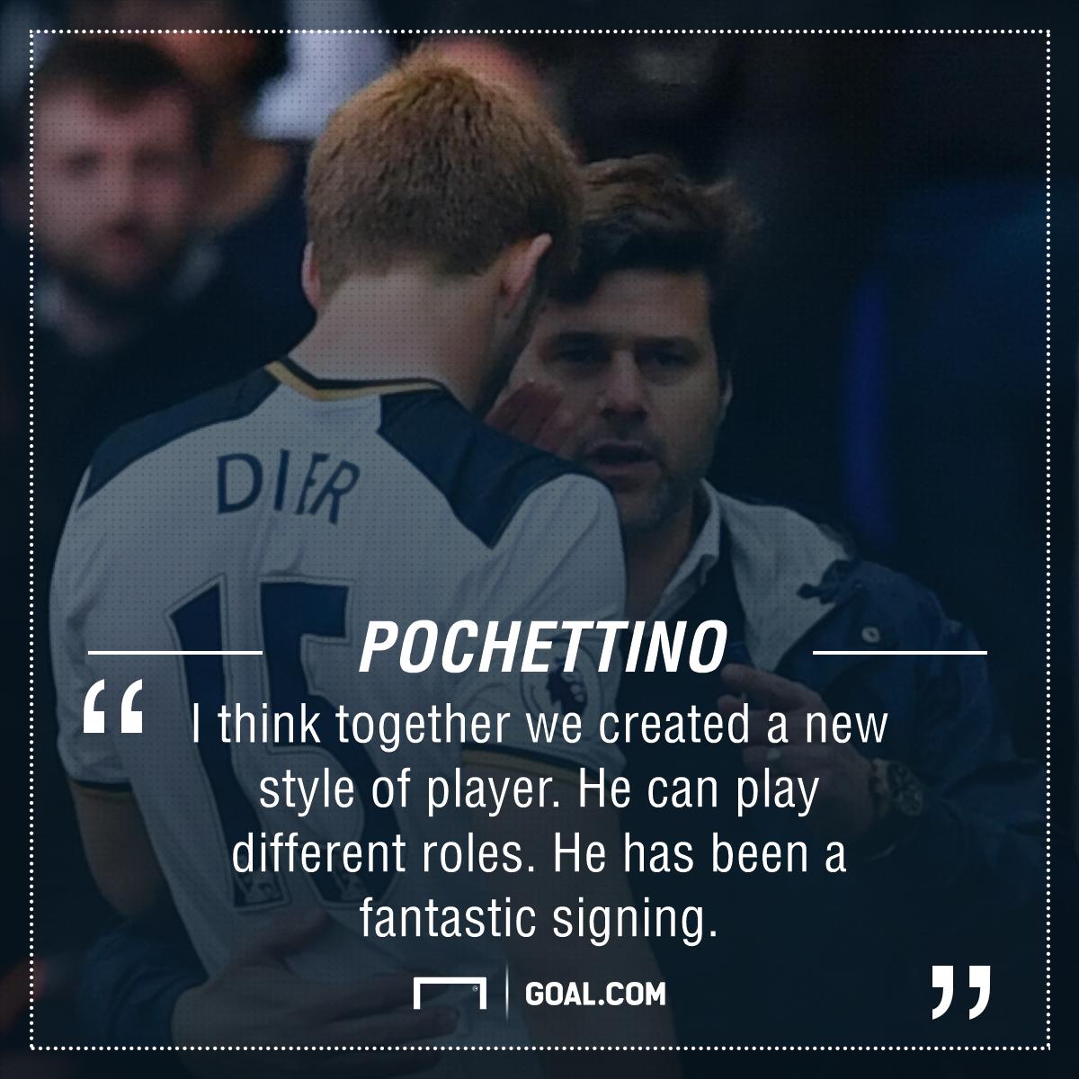 Eric Dier Maurici Pochettino Tottenham PS