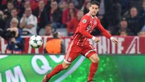 James Rodriguez Bayern München Champions League 18102017
