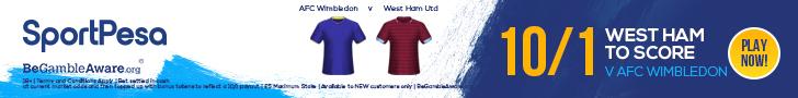 West Ham enhanced offer SportPesa