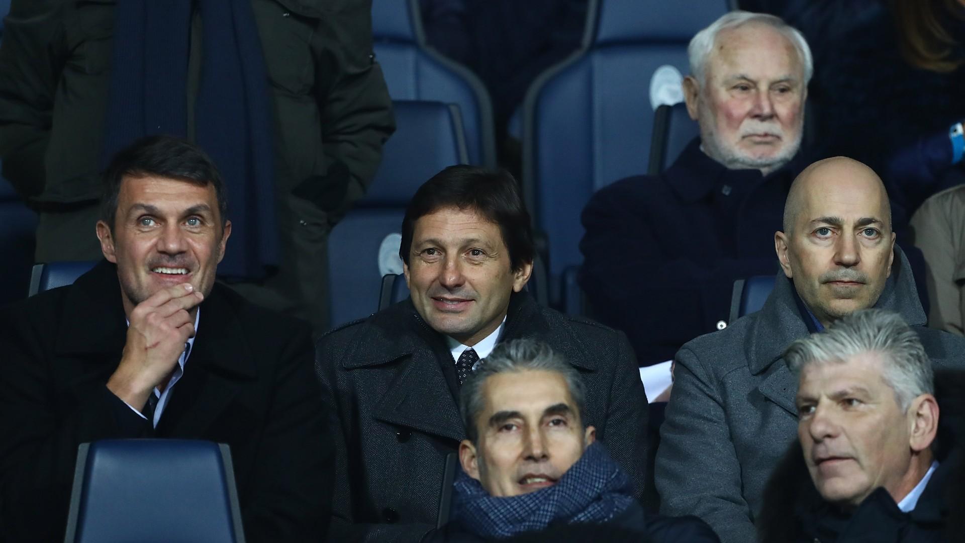 Ivan Gazidis Leonardo Paolo Maldini - Milan