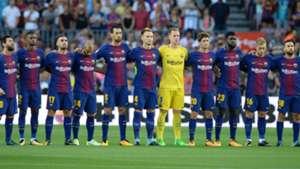 Barcelona tribute