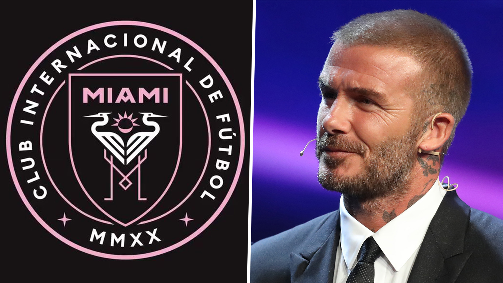 David Beckham's Major League Soccer team unveils name, crest