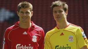 Steven Gerrard Xabi Alonso Liverpool Premier League